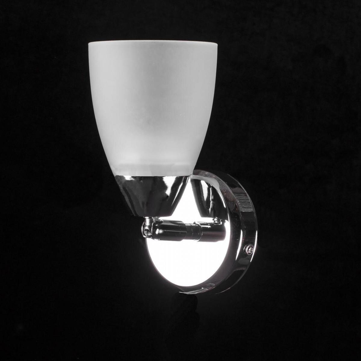 Бра спот на 1 лампочку P3-01615/1W/CRWT