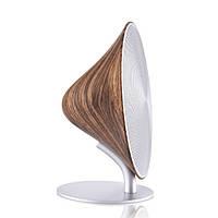 Колонка настольная Bluetooth 16 Вт. 20х22х11,5 см. орех Великобритания 410809