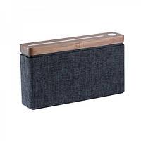 Настольная колонка Bluetooth 16 Вт. 18,5х4,5х10 см. орех Великобритания 410811