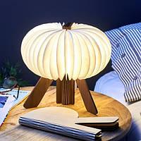 Светильник ночник R-образный корпус орех Великобритания 410814
