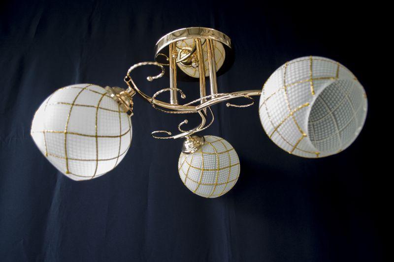 Люстра на 3 лампочки 9648а-3