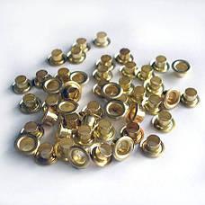 Заклепки 4,5мм (для ручного) уп/250шт, золото, фото 3