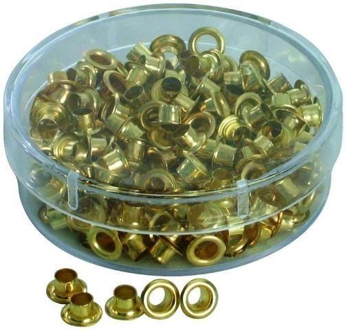 Заклепки 4,5мм (для ручного) уп/250шт, золото