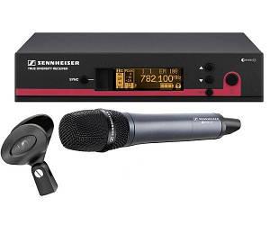 Радиосистема Sennheiser EW135 G3 EW 100-G3 один ручной микрофон E835
