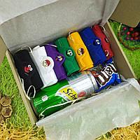 Подарок для парня, девушки в подарочной коробке, подарочный бокс 9 в 1, ко дню рождения, корпоративный