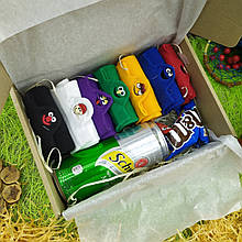 Подарунок для хлопця, дівчини в подарунковій коробці, подарунковий бокс 9 в 1, до дня народження, корпоративний