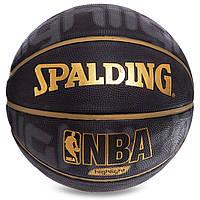 Мяч для баскетбола №7 композитная кожа NBA SPALDING 74634Z