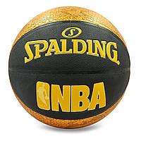 Баскетбольный мяч №7 композитная кожа SPALDING 76039Z