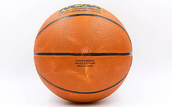 Баскетбольный мяч размер 7 резиновый Wilson BA-8091, фото 2