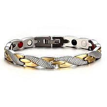 Стильный женский магнитный браслет