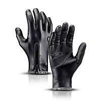 Перчатки зимние кожаные Kyncilor для сенсорных экранов, фото 1
