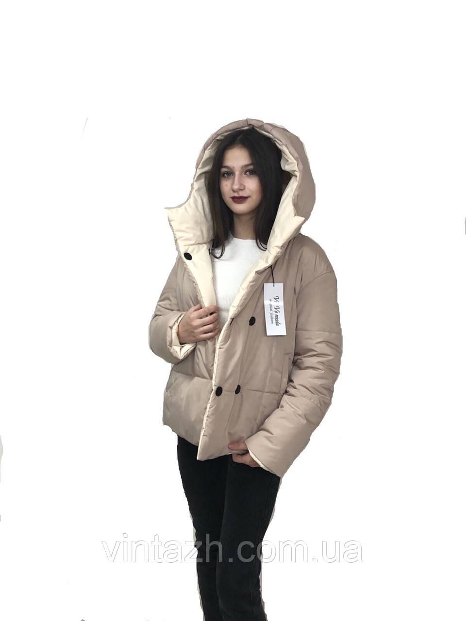 Женская, модная демисезонная куртка размеры 44-52