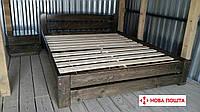 Кровать деревянная двуспальная Мебель для спальни 180х200см