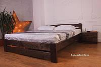 140х200 Массив сосны Кровать деревянная Мебель для спальни полуторная