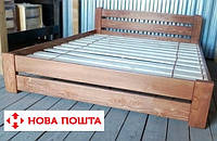160х200 Массив сосны Кровать деревянная двуспальная Мебель для спальни