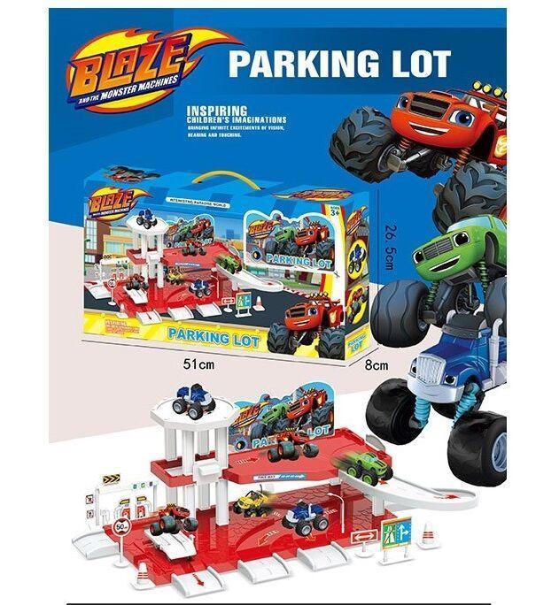 """Гараж Parking Lot """"Blaze"""" Вспыш в коробке 553-394 B"""