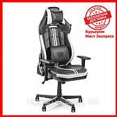 Компьютерное кресло Barsky CYB-04 VR Cyberpunk White, геймерское кресло