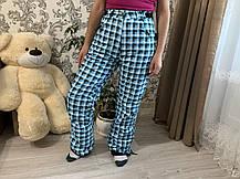 Сноуборд клетчатые яркие штаны горнолыжные тёплые штаны Thinsulate, фото 2