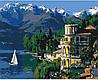 """Картина по номерам. Городской пейзаж """"Вдохновляющая Италия"""" 40*50см KHO3511"""
