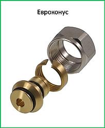 Фитинг евроконус для пластиковой и металлоаластиковой трубы 24х1,5-16х2 ICMA Арт. 100