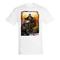 Прямая печать на футболках белых от 5 шт