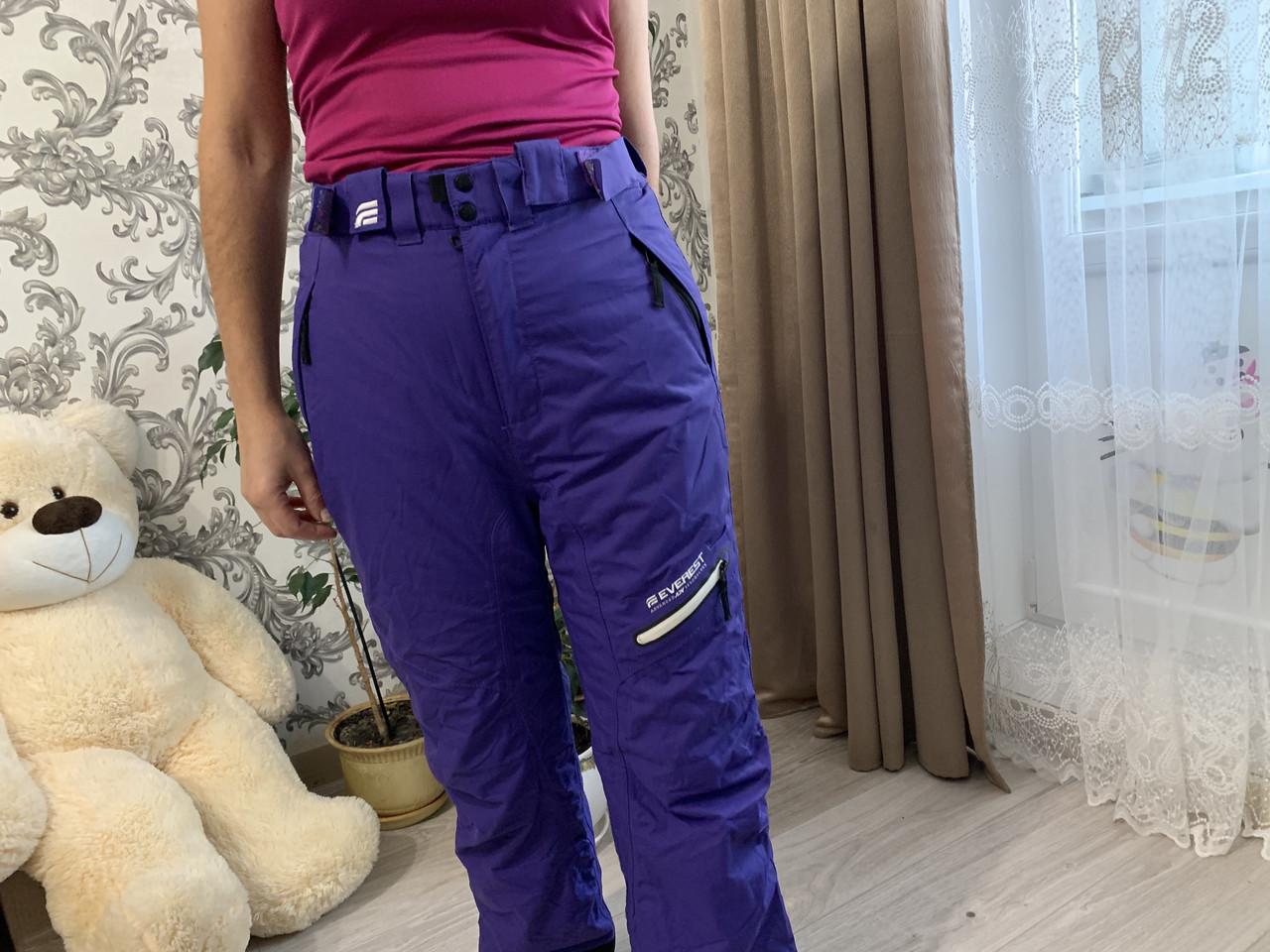 Сноуборд Лижні теплі фіолетові штани Everest Thinsulate