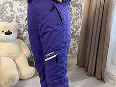 Сноуборд Лыжные тёплые фиолетовые  штаны Everest Thinsulate, фото 3