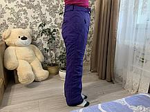 Сноуборд Лижні теплі фіолетові штани Everest Thinsulate, фото 2
