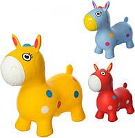 Прыгуны-лошадки MS1582Yellow, 1300г, в кульке, 29-25-10см, фото 1