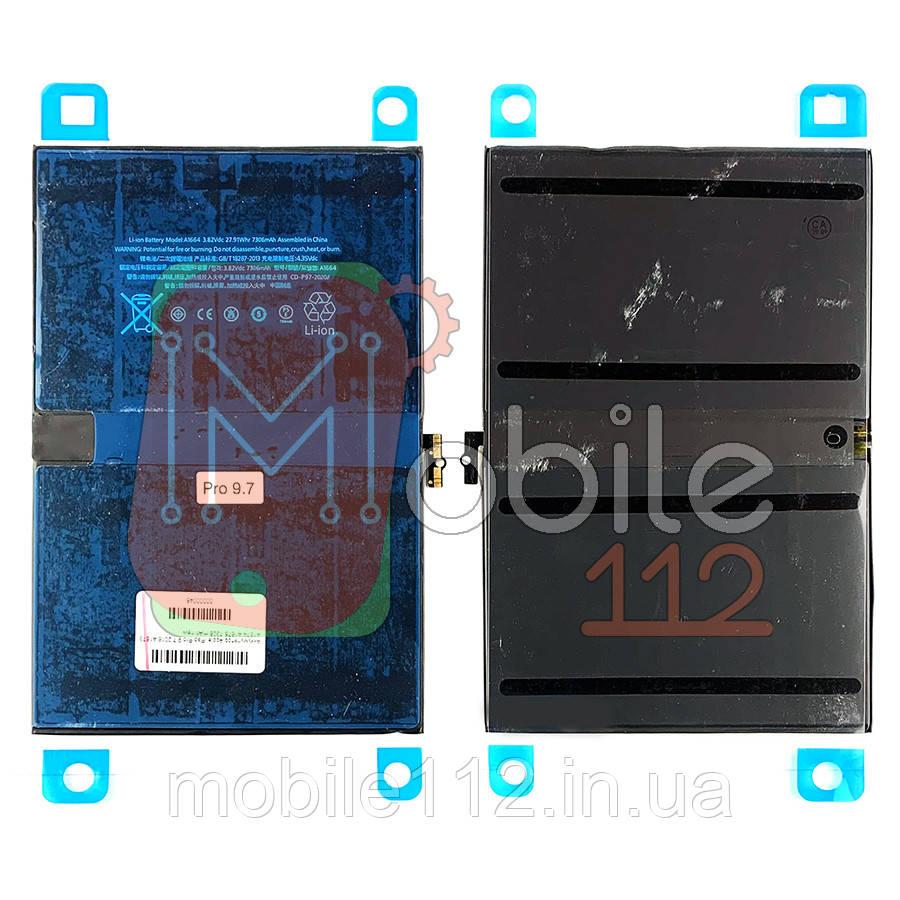 Аккумулятор (АКБ батарея) Apple iPad Pro 9.7 2016 A1673 A1674 A1675 7306 mAh new оригинал Китай