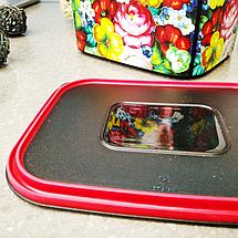 Контейнер для пищи Tupperware Цветочный узор 2,1 л (РП4344), фото 2