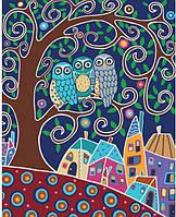 "Картина по номерам. Животные, птицы ""Трио"" 40х50см KHO2477"