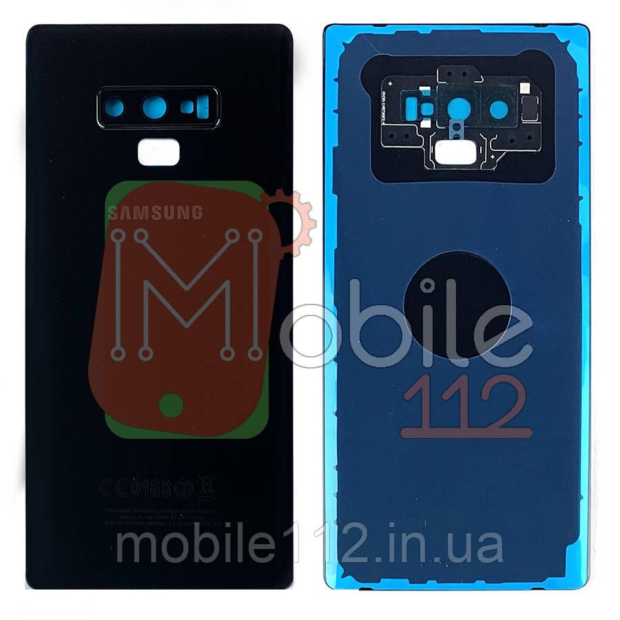 Задняя крышка Samsung Galaxy Note 9 N960 черная оригинал Китай со стеклом камеры