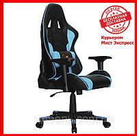 Геймерское компьютерное кресло Barsky Sportdrive Premium Step Blue SD-19