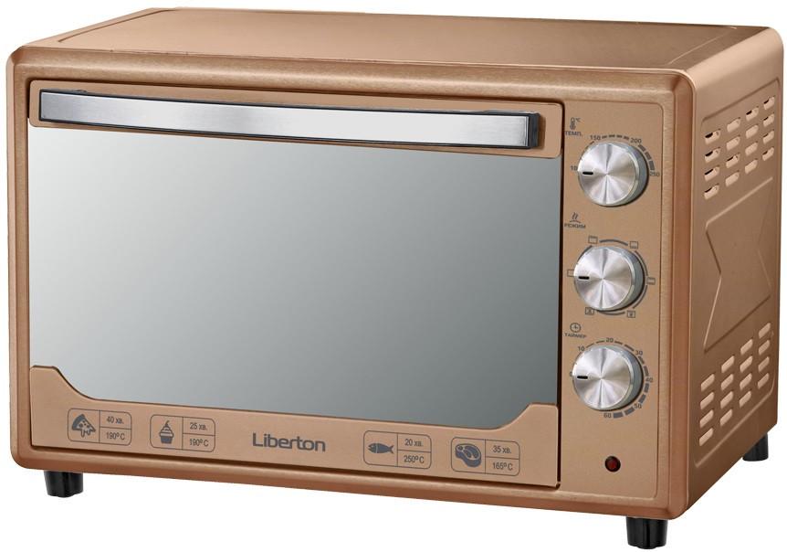 Электродуховка LIBERTON LEO-481 Bronze Mirror