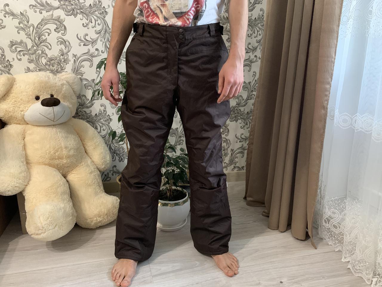 Сноуборд штаны коричневые горнолыжные тёплые штаны alpine Thinsulate