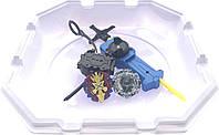 Бейблейд набор с ареной Волчек XENO XCALIBUR.M.I B-48 Beyblade Экскалибур B-48 + Kaiser Kerbeus. L. P Defense, фото 1