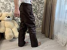 Сноуборд штаны коричневые горнолыжные тёплые штаны alpine Thinsulate, фото 2