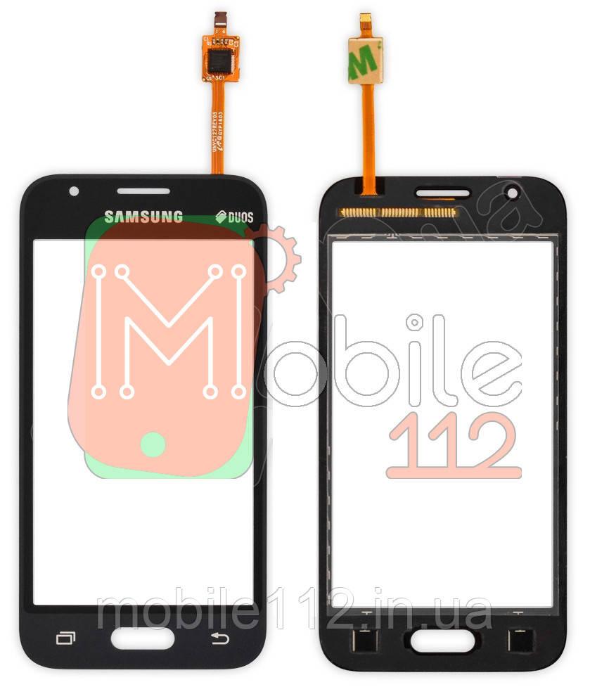Сенсор (тачскрин) Samsung Galaxy J1 mini 2016 J105H черный