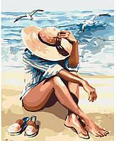 """Картина по номерам. Люди """"Под пьянящим солнцем"""" 40*50см * KHO2698"""