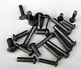 Заклепка 12 сталева ГОСТ 10299-80, DIN 660, ISO 1051, фото 5