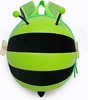 Рюкзак Supercute Пчелка 0.3кг 4.7л 28х21.5х13см Зеленый (Sup/Р/Бдж_002), фото 1