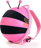 Рюкзак Supercute Пчелка 0.3кг 4.7л 28х21.5х13см Розовый (Sup/Р/Бдж_004), фото 1