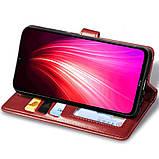 Кожаный чехол книжка GETMAN Gallant (PU) для Xiaomi Poco X3 NFC, фото 3