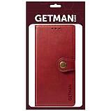 Кожаный чехол книжка GETMAN Gallant (PU) для Xiaomi Poco X3 NFC, фото 4