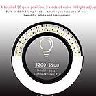 Селфи кольцо светодиодное на штативе с держателем для телефона OEM 26 см (100612), фото 6