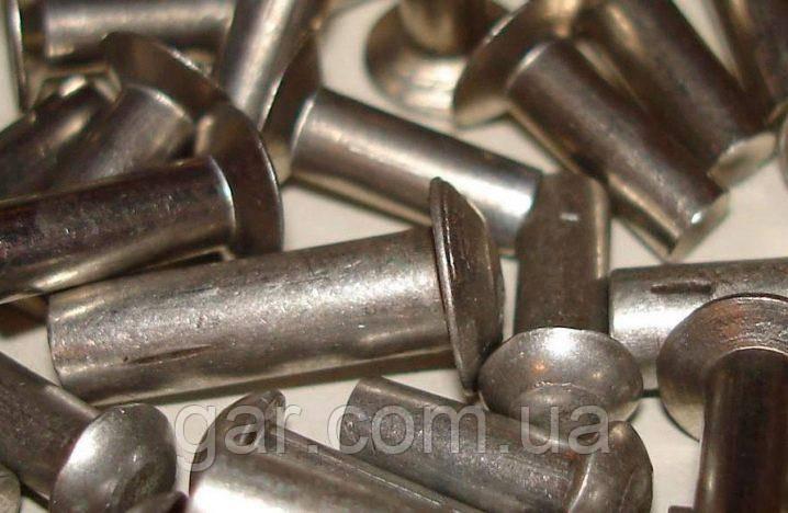 Заклепка 20 стальная ГОСТ 10299-80, DIN 660, ISO 1051