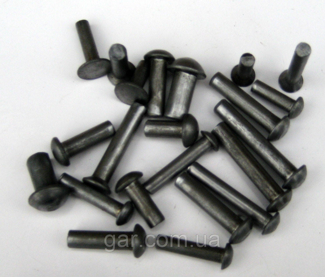 Заклепка 24 стальная ГОСТ 10299-80, DIN 660, ISO 1051