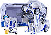 Трансформер 28170W (Белый) р/у,полиция,машина+робот,31см,муз,св,танцует,USBзар,2ц,кор,41-21-18см