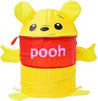 Корзина для игрушек GFP-001(POOH), товар(42*30) в сумке со змейкой 40см